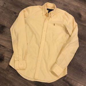 Ralph Lauren Dress Shirt Size 2 Yellow